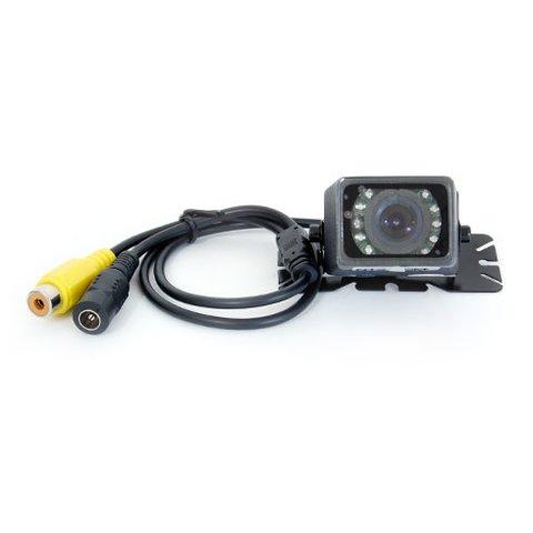 Универсальная автомобильная камера заднего вида GT S616H с инфракрасной подсветкой