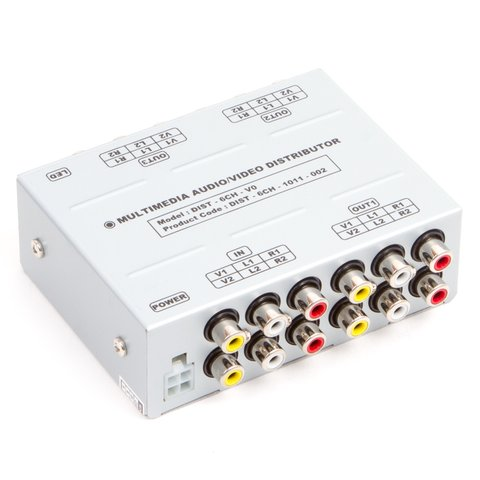 Universal A V Signal Distributor 1 to 3