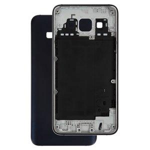 Housing Back Cover compatible with Samsung A300F Galaxy A3, A300FU Galaxy A3, A300H Galaxy A3, (dark blue)