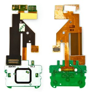 Flat Cable for Nokia 5610 Cell Phone, (Copy, for mainboard, without camera, with upper keypad module, with components)