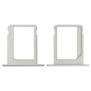 SIM-card Holder for Apple iPad Tablet, (silver)