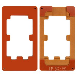 LCD Module Mould for Apple iPhone 5, iPhone 5C, iPhone 5S, iPhone SE Cell Phones, (for glass gluing )