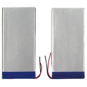 Battery, (122 mm, 64 mm, 3.2 mm, Li-ion, 3.7 V, 2500 mAh)