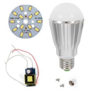 LED Light Bulb DIY Kit SQ-Q17 5730 7 W (cold white, E27)
