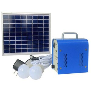 DC Portable Solar Power System, 5 W, 12 V / 4 Ah, Poly 18 V / 5 W