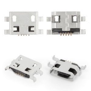 Conector de carga para tablet PC Fly Flylife Connect 7.85 3G 2; tablet PC; celulares, 5 pin, micro USB tipo-B