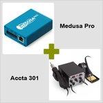 Medusa Pro Box + Estación de soldadura de aire caliente Accta 301 (220V) Combo