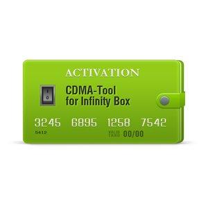 Infinity CDMA-Tool - Активация