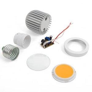 Комплект для сборки светодиодной лампы TN-A43 5 Вт (теплый белый, E27)
