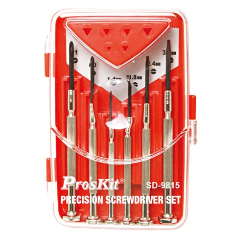 Набір прецизійних викруток Pro'sKit SD 9815