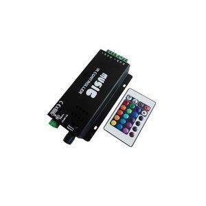 Контролер звуковий з ІЧ пультом HTL-031 (RGB, 5050, 3528, 144 Вт)