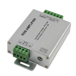 Підсилювач RGB сигналу HTL-008 (5050, 3528, 24 A)