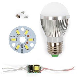 Комплект для збирання світлодіодної лампи SQ-Q01 5730 3 Вт (холодний білий, E27)