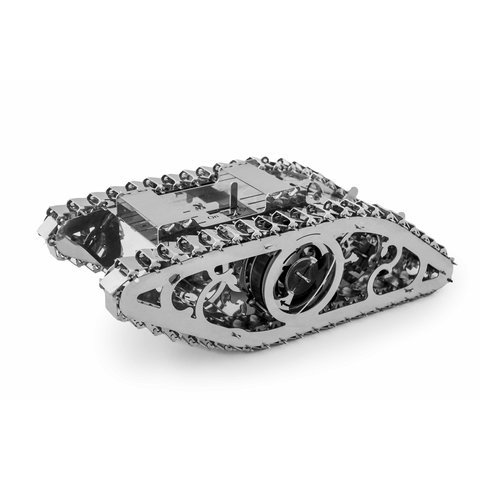 Metal Mechanical 3D Puzzle Time 4 Machine Marvel Tank