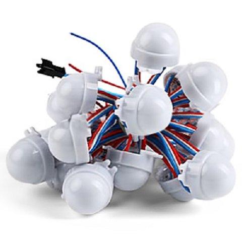 LED Module Kit WS2811, 3 SMD5050 LEDs, 30 mm, IP67, 20 pcs.