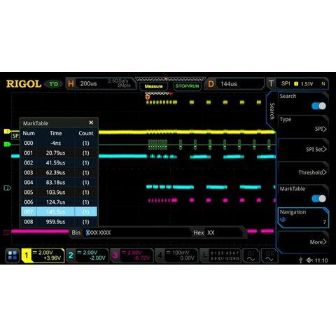 Software Option RIGOL DS7000 COMP for Decoding RS232 UART